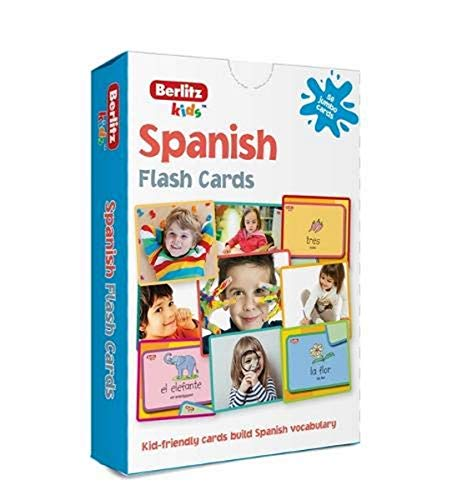 9781780044651: Berlitz Language: Spanish Flash Cards (Berlitz Flashcards)