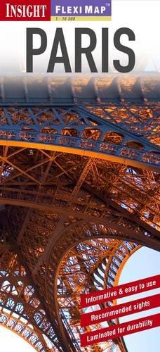 9781780050669: Insight Flexi Map: Paris