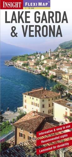 9781780054131: Insight Flexi Map: Lake Garda & Verona