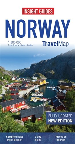 9781780054896: Insight Travel Map: Norway (Insight Travel Maps)