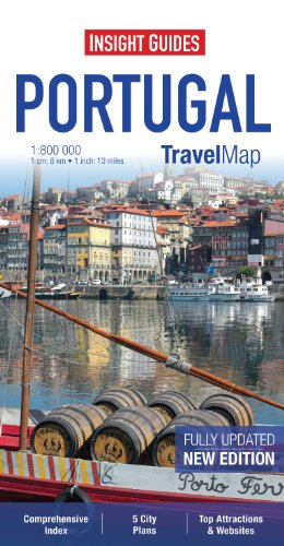 Insight Travel Map: Portugal