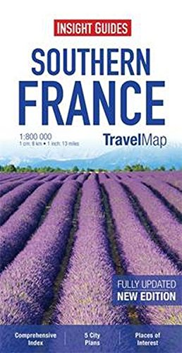 Insight Travel Maps: Southern France: aa vv