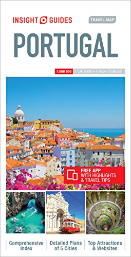 Insight Guides: Travel Map Portugal (Insight Travel Maps): APA Publications Limited