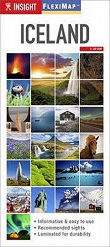 9781780058184: Insight Flexi Map: Iceland (Insight Flexi Maps)