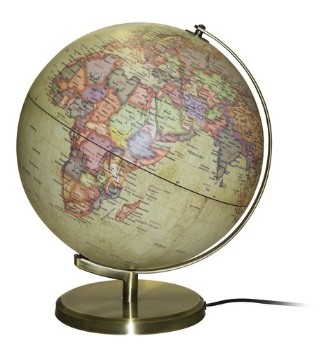 Insight Globe: Brass Antique Illuminated: APA Publications Limited, Insight Guides