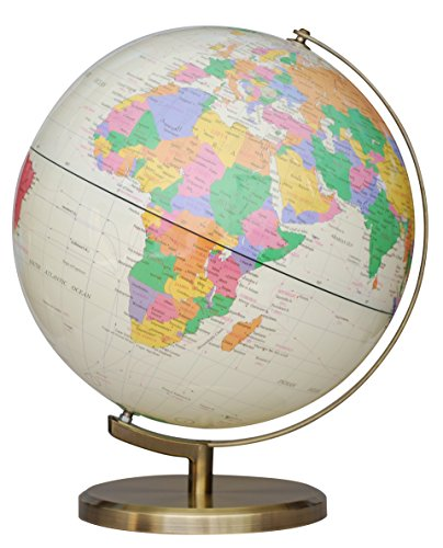 Insight Globe: Brass Antique Illuminated (Us)