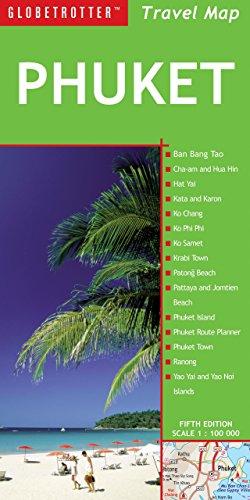 9781780090962: Phuket Travel Map, 5th (Globetrotter Travel Map)