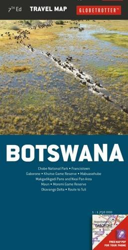 9781780093956: Botswana Travel Map, 7th (Globetrotter Travel Map)