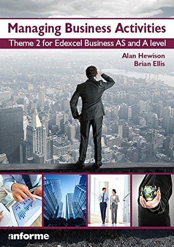9781780140124: Managing Business Activities: Theme 2 for Edexcel Business as and A Level