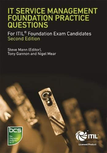 9781780171142: IT Service Management Foundation Practice Questions: For ITIL Foundation Exam Candidates