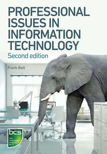 9781780171807: Professional Issues in Information Technology