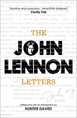 9781780225036: The John Lennon Letters: Edited and with an Introduction by Hunter Davies