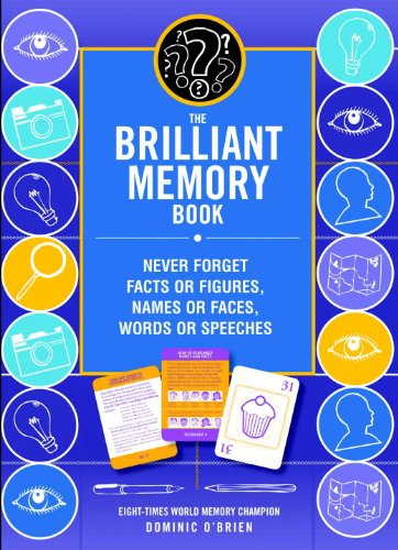 The Brilliant Memory Tool Kit: Tips, Tricks and Techniques to Boost Your Memory Power (1780281196) by Dominic O'Brien