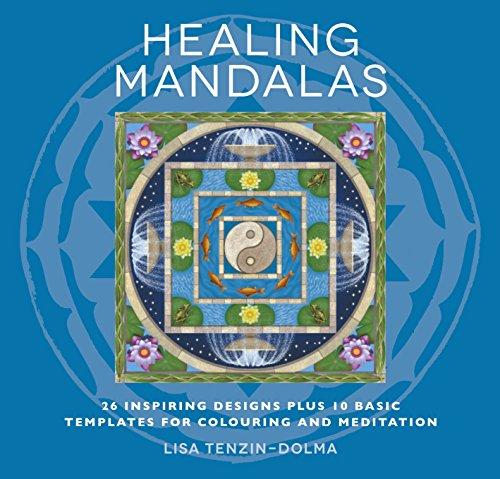 9781780286006: Healing Mandalas Colouring Book (Watkins Adult Coloring Pages)