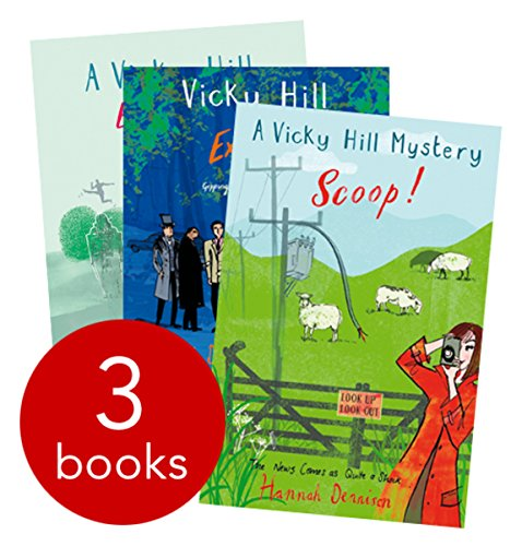 9781780336657: Vicky Hill Mystery 3-Book Set [ Exclusive! Exposé! Scoop! ] (Vicky Hill Mystery Collection)