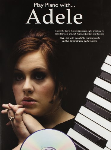 9781780381022: Adele Play Piano With + Cd