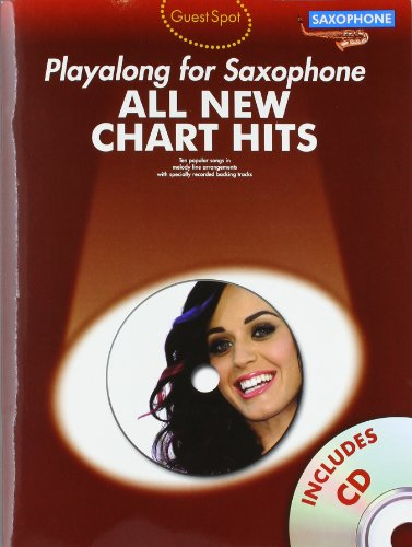 9781780383606: Guest Spot: All New Chart Hits (Alto Saxophone) (All New Chart Hits Book & CD)