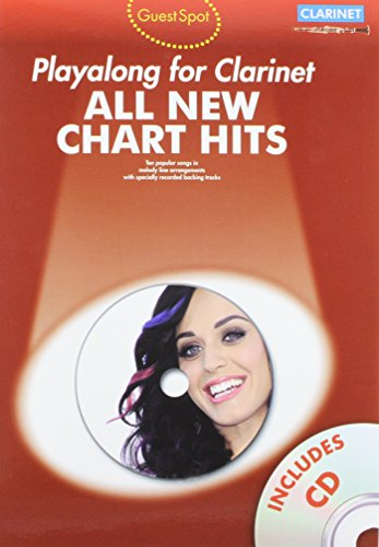 9781780383613: Guest Spot: All New Chart Hits (Clarinet) (All New Chart Hits Book & CD)