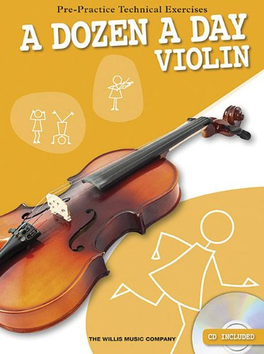 9781780383682: A Dozen a Day - Violin Pre-Practice Technical Exercises (Book & CD)
