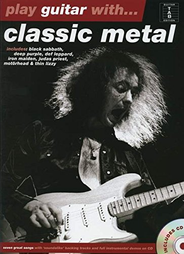 9781780383798: Play Guitar with Classic Metal + CD