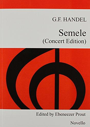 9781780384412: Handel: Semele (Abridged Edition) - Vocal Score