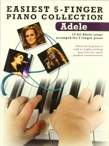 9781780384764: Easiest 5-Finger Piano Collection: Adele