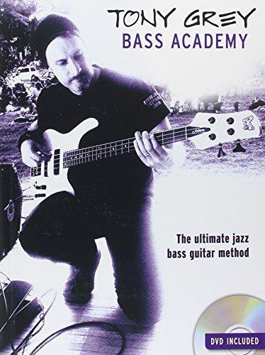 9781780384832: Tony Grey Bass Academy (Book/DVD)