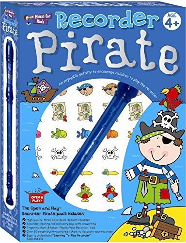 9781780385921: Open and Play Recorder Pirate Pack