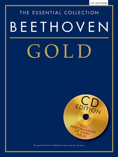 9781780387475: Gold Beethoven Essential Piano Collection + Cd