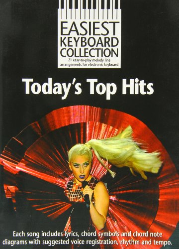 9781780388731: Easiest Keyboard Collection: Today's Top Hits