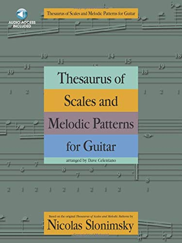 9781780389332: Slonsimsky Thesaurus of Scales and Melodic Patterns for Guitar + CD