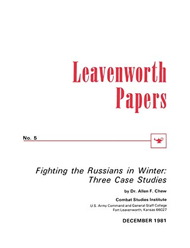 9781780390208: Fighting the Russians in Winter: Three Case Studies
