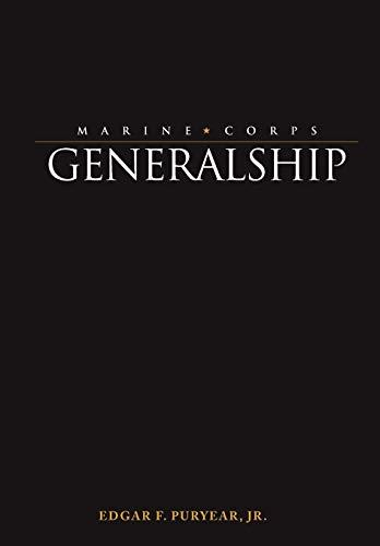 9781780390420: Marine Corps Generalship