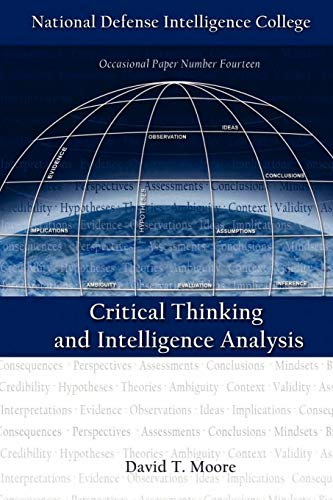 9781780391182: Critical Thinking and Intelligence Analysis (Second Edition)