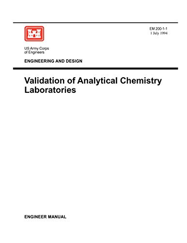 9781780397795: Environmental Quality: Validation of Analytical Chemistry Laboratories (Engineer Manual EM 200-1-1)