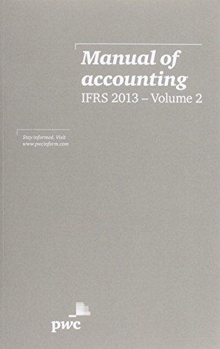 Manual of Accounting, IFRS 2013 (Hardback)