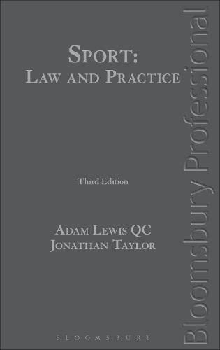 9781780431130: Sport: Law and Practice: Third Edition