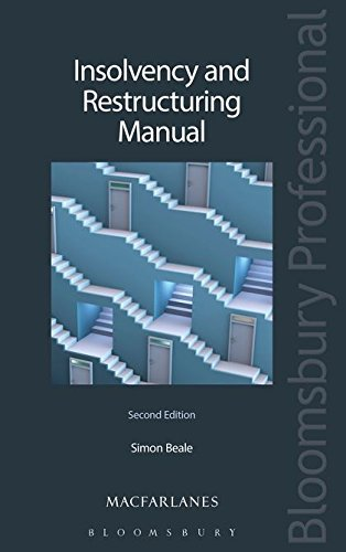 Insolvency and Restructuring Manual - Second Edition: Simon Beale