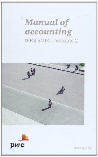 Manual of Accounting Ifrs 2014: PWC