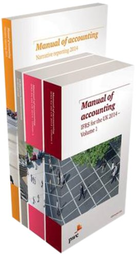 9781780433073: PwC Manual of Accounting IFRS for the UK 2014 PACK