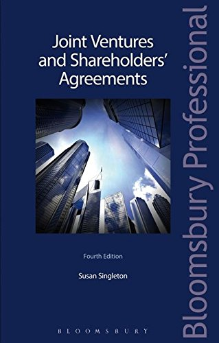 9781780433110: Joint Ventures and Shareholders' Agreements
