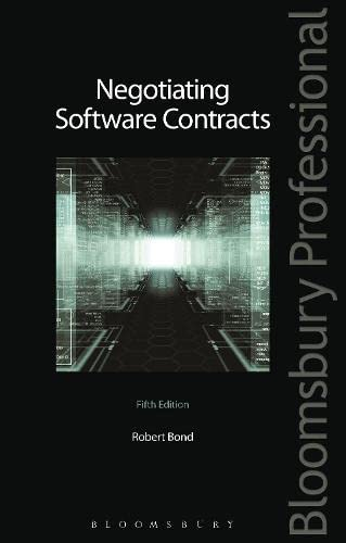 9781780433332: Negotiating Software Contracts: Fifth Edition
