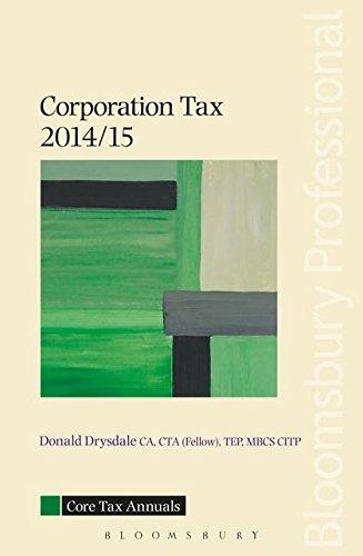 9781780434254: Core Tax Annual: Corporation Tax 2014/15 2014/15 (Core Tax Annuals)