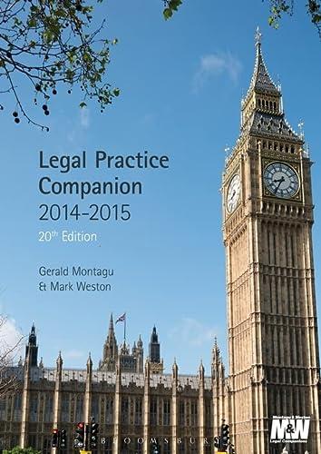 9781780434476: Legal Practice Companion 2014-15: 20th Edition
