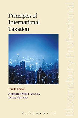 Principles of International Taxation: Angharad Miller; Lynne
