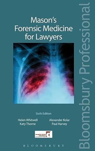 9781780434766: Mason's Forensic Medicine for Lawyers: Sixth Edition