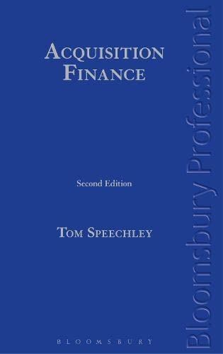 9781780436593: Acquisition Finance: Second Edition
