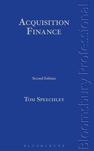 9781780436593: Acquisition Finance