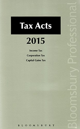 9781780436951: Tax Acts 2015: A Guide to Irish Law