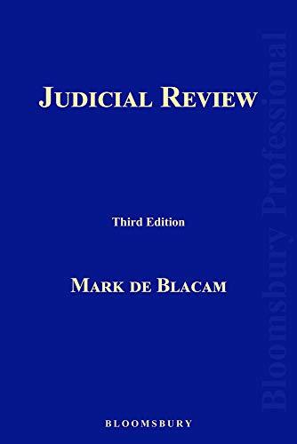 9781780437026: Judicial Review: Third Edition